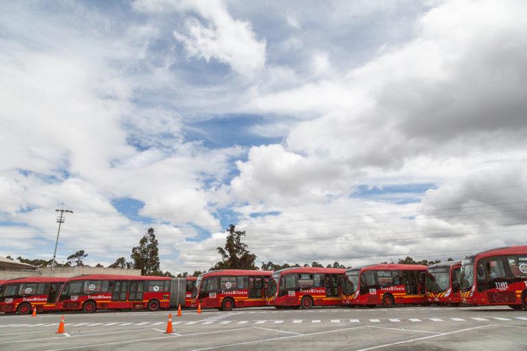 Avanza la renovación del Sistema TransMilenio con 846 buses nuevos