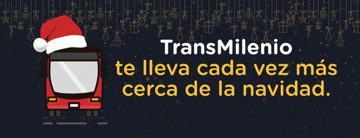 TransMilenio te lleva cada vez más cerca de la navidad
